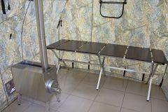 Мобильная баня ПБ-1 с печкой