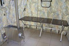 Походная баня ПБ-2 (печь в комплекте