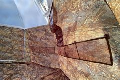 Универсальная палатка УП-2, каркас пруток 8мм