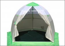 Полуавтоматическая палатка