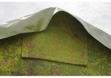Армейская палатка БЕРЕГ 15М2 4.1х7 м. (ДВУХСЛОЙНАЯ)