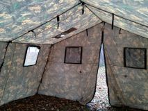 Армейская палатка БЕРЕГ-15М1 4х7 м. (однослойная)