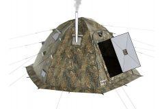 Универсальная палатка УП-2, каркас- пруток 10мм.