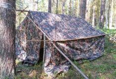 Палатка ГЕО-6, бескаркасная облегченная.