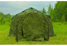 Тамбур к армейской палатке