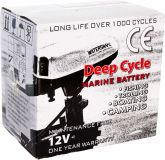 Аккумулятор Marine Deep Cycle AGM 75Ah 12V (6FM75TD-X)