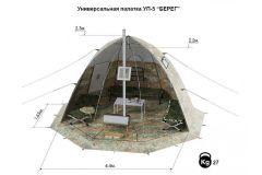Универсальная палатка УП 4 Берег
