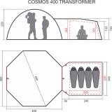 Шатёр-тентхаус автомат Cosmos Transformer, World of Maverick